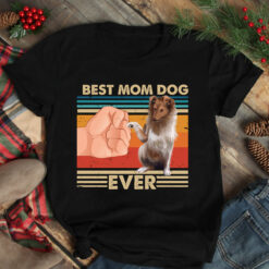 Vintage Best Mom Ever Shirt Best Gollie Dog Mom Ever