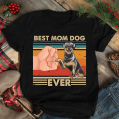 Vintage Best Mom Ever Shirt Best Rottweiler Mom Ever