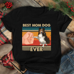 Vintage Best Mom Ever Shirt Best Sheltie Mom Ever