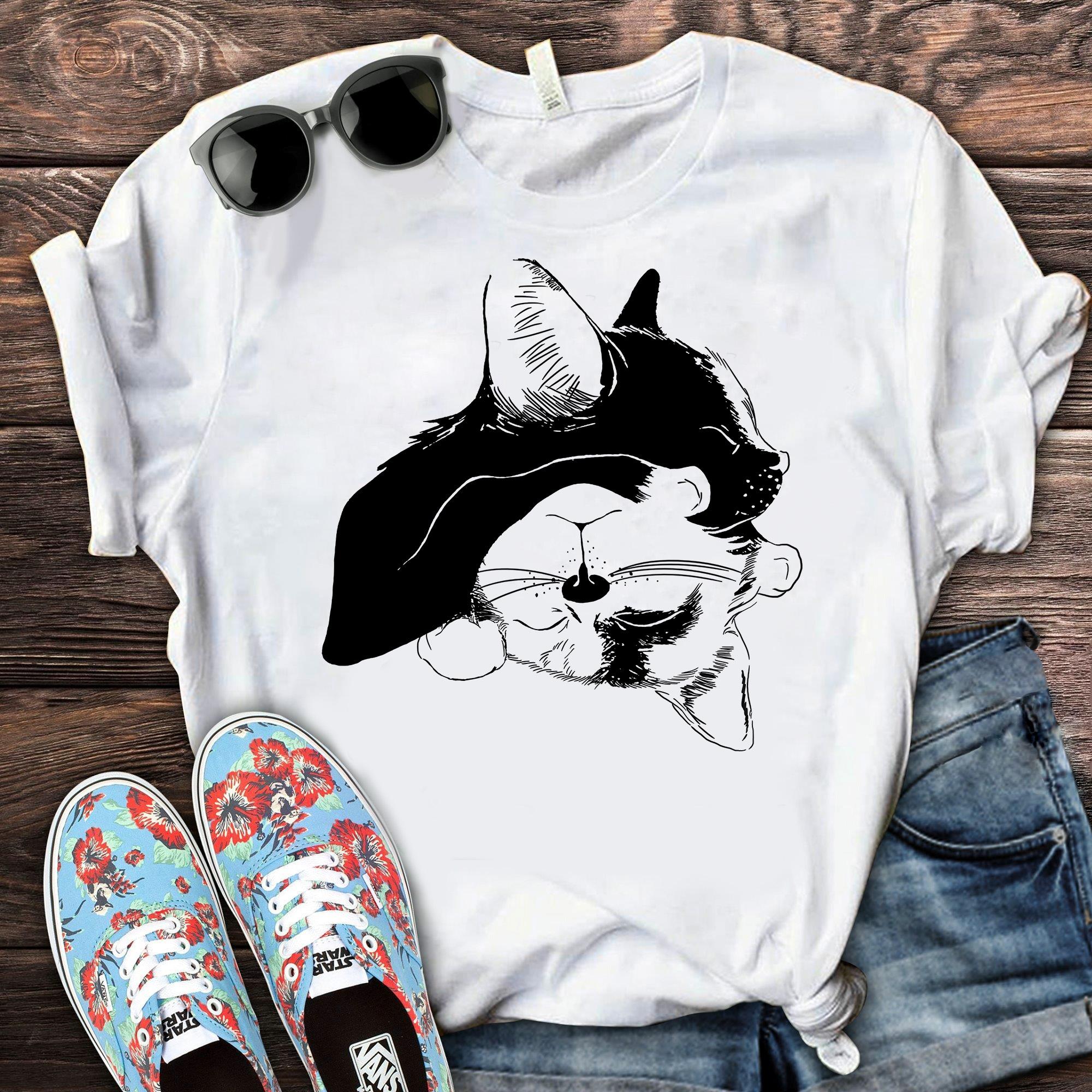 2 Cats Nap Shirt