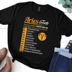 Aries Facts Shirt 1 Awesome Zodiac Sign