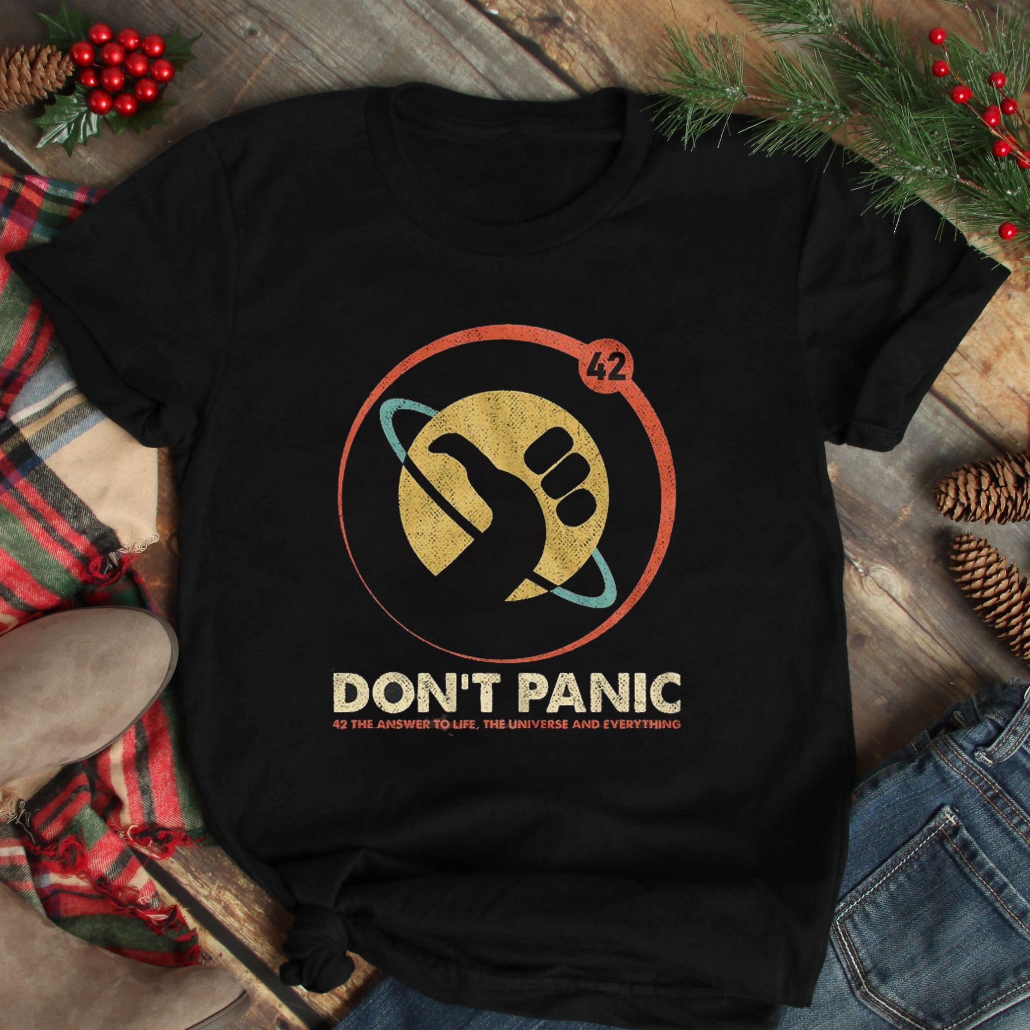 Don't Panic 42 The Answer To Life Shirt