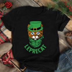 Leprecat St Patrick Day Shirt