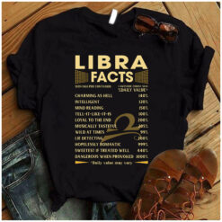 Libra Facts Shirt 1 Awesome Zodiac Sign