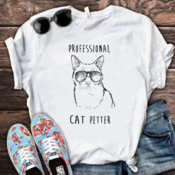 Professional Cat Petter Shirt