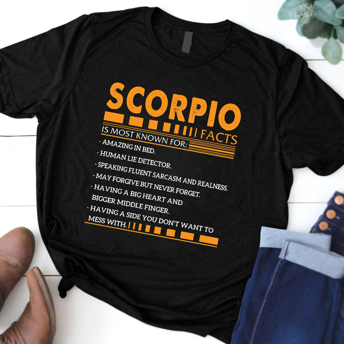 Scorpio Facts Is Most Known For Shirt