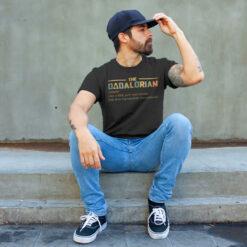 The Dadalorian Shirt Like A Dad Just Way Cooler