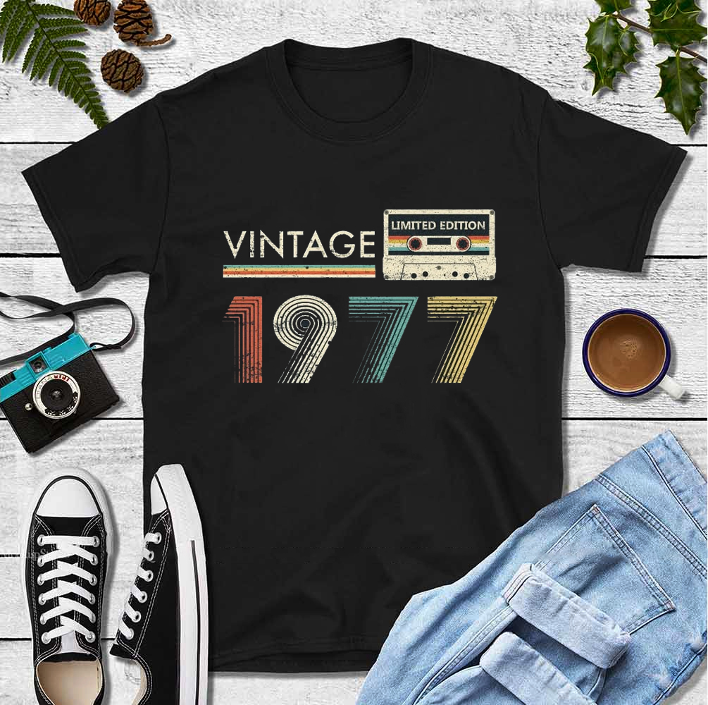 Vintage 1977 Limited Edition Shirt