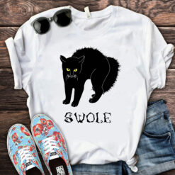 Black Cat Swole Shirt