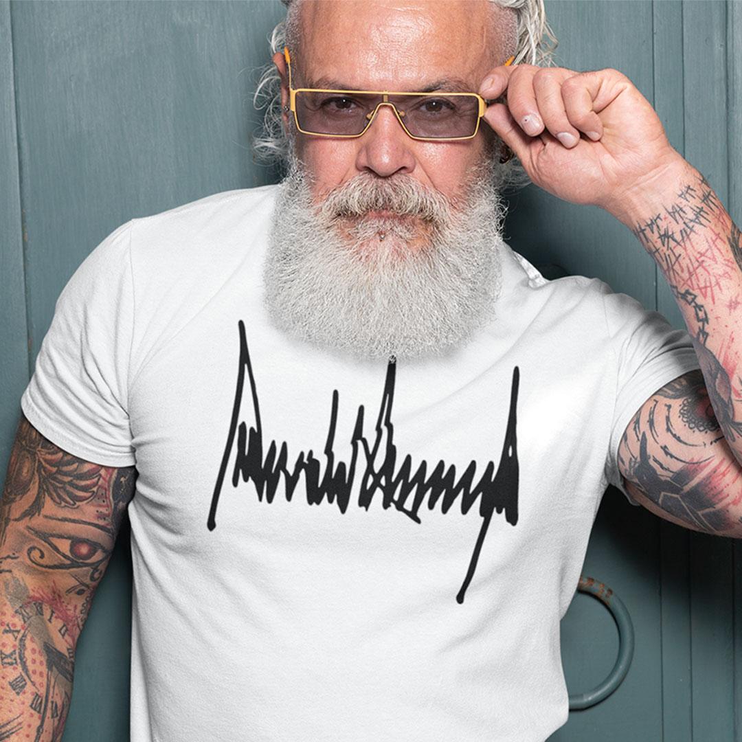 Donald J Trump Signature Shirt
