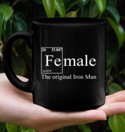 Female The Original Iron Man Mug