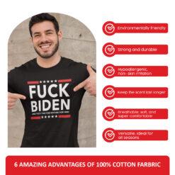 Fuck Biden T Shirt Fuck Voting For Him