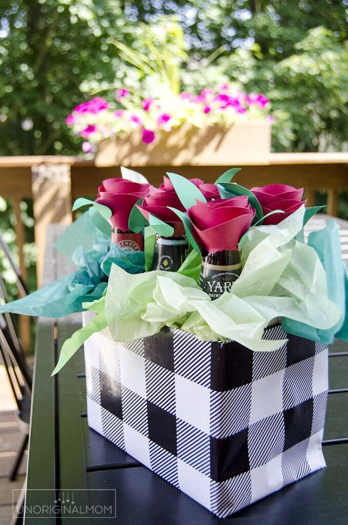 How-To-Do-Fathers-Day-Gift-beer-bouquet