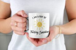 I Am A Ray Of Fucking Sunshine Mug Good Morning
