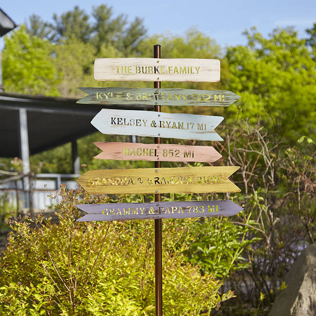 Personalized-Family-Member-Signpost-Best-Fathers-Day-gifts-for-grandpa