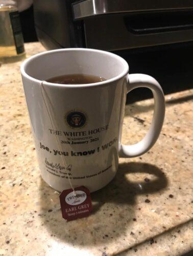 Trump The White House Joe You Know I Won Coffee Mug photo review