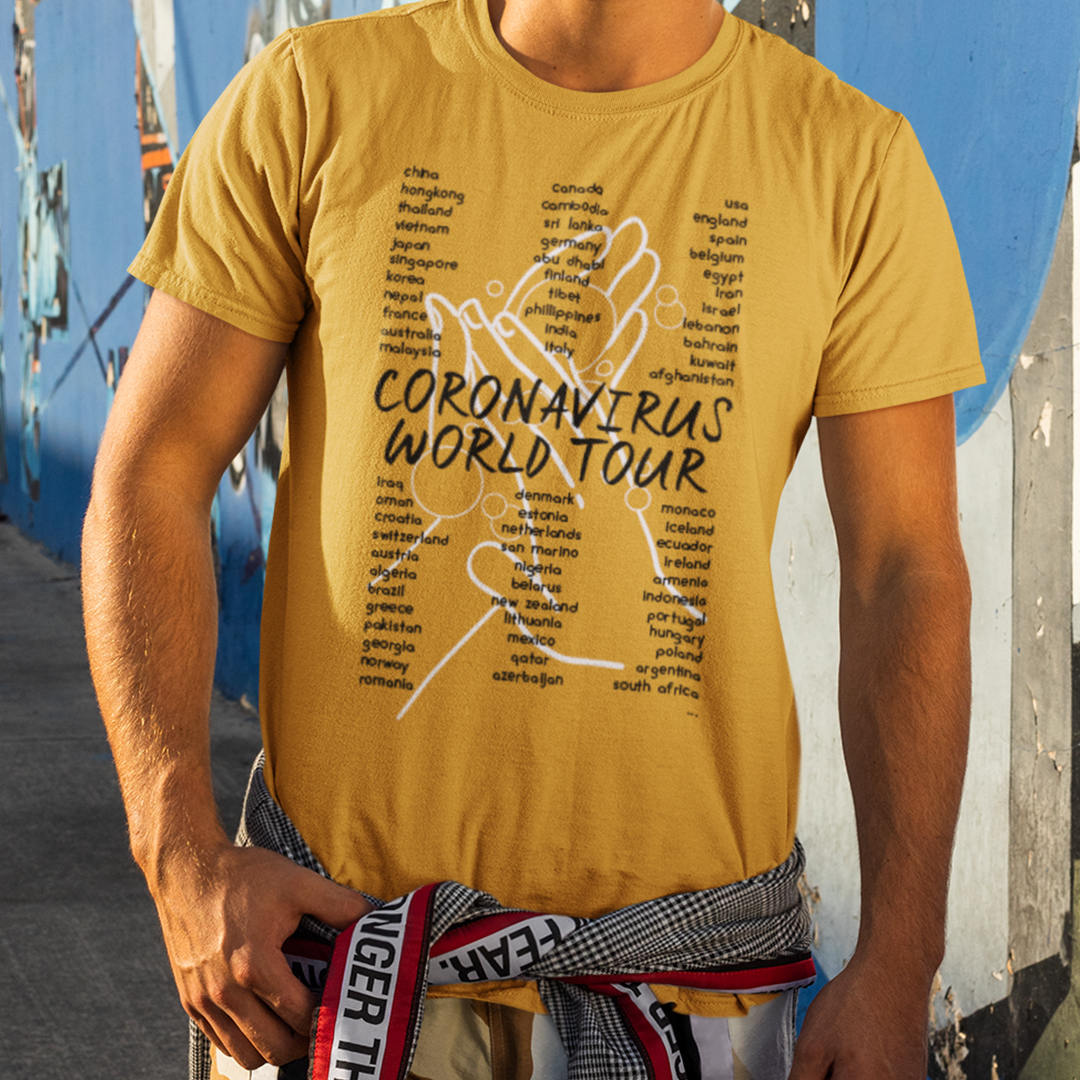 Coronavirus World Tour T ShirtCoronavirus World Tour T Shirt