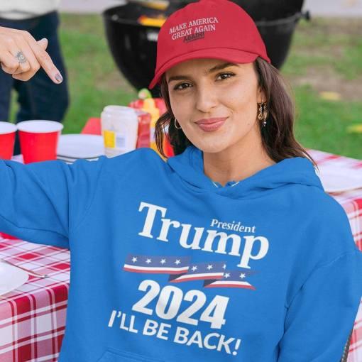 President-Trump-2024-Ill-Be-Back-Shirt-American-Flag-Trump-2024-election-gift