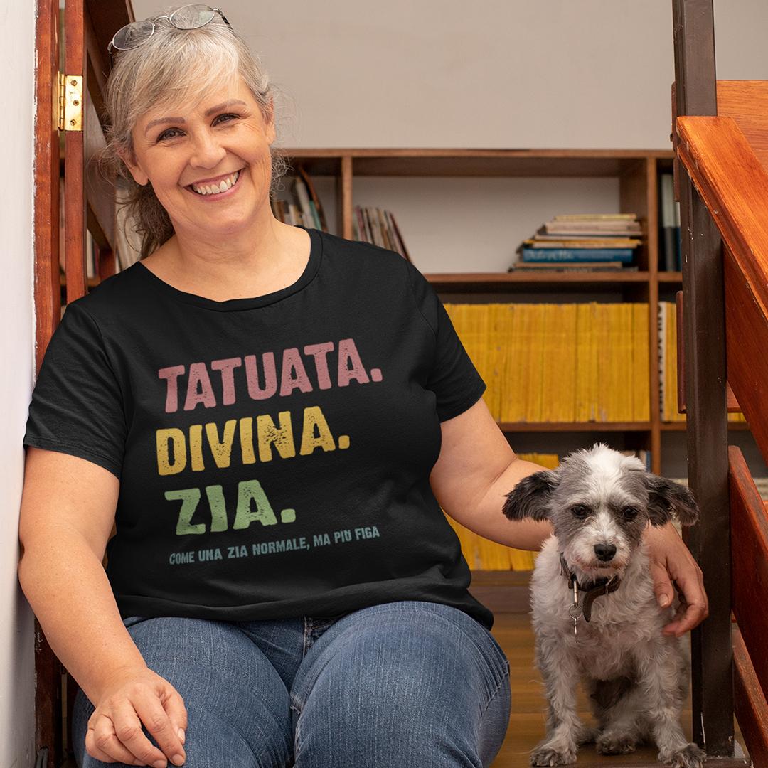 Tatuata Divina Zia Shirt
