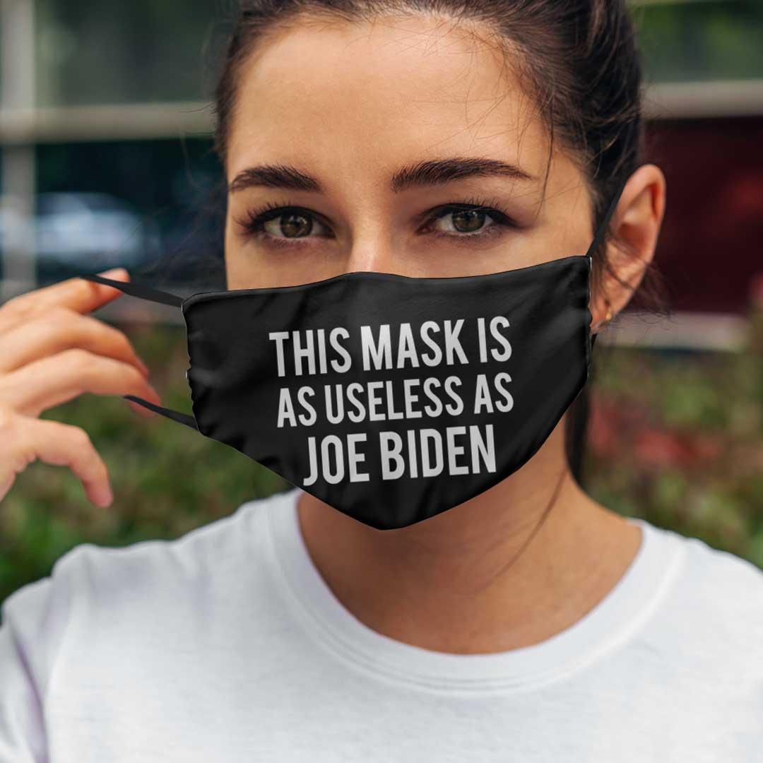 This Mask Is As Useless As Joe Biden Facemask