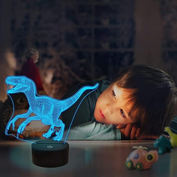 3-D Dinosaur Night Light- fun holiday gifts for teacher.