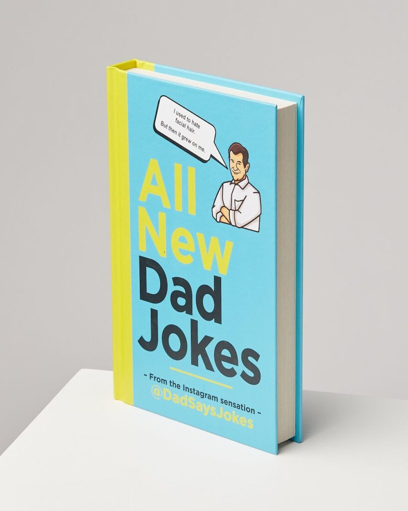 All New Dad Jokes By Kit Chilvers- cool gift for dad who has everything UK