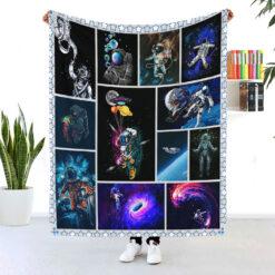 Astronaut Aesthetic Blanket