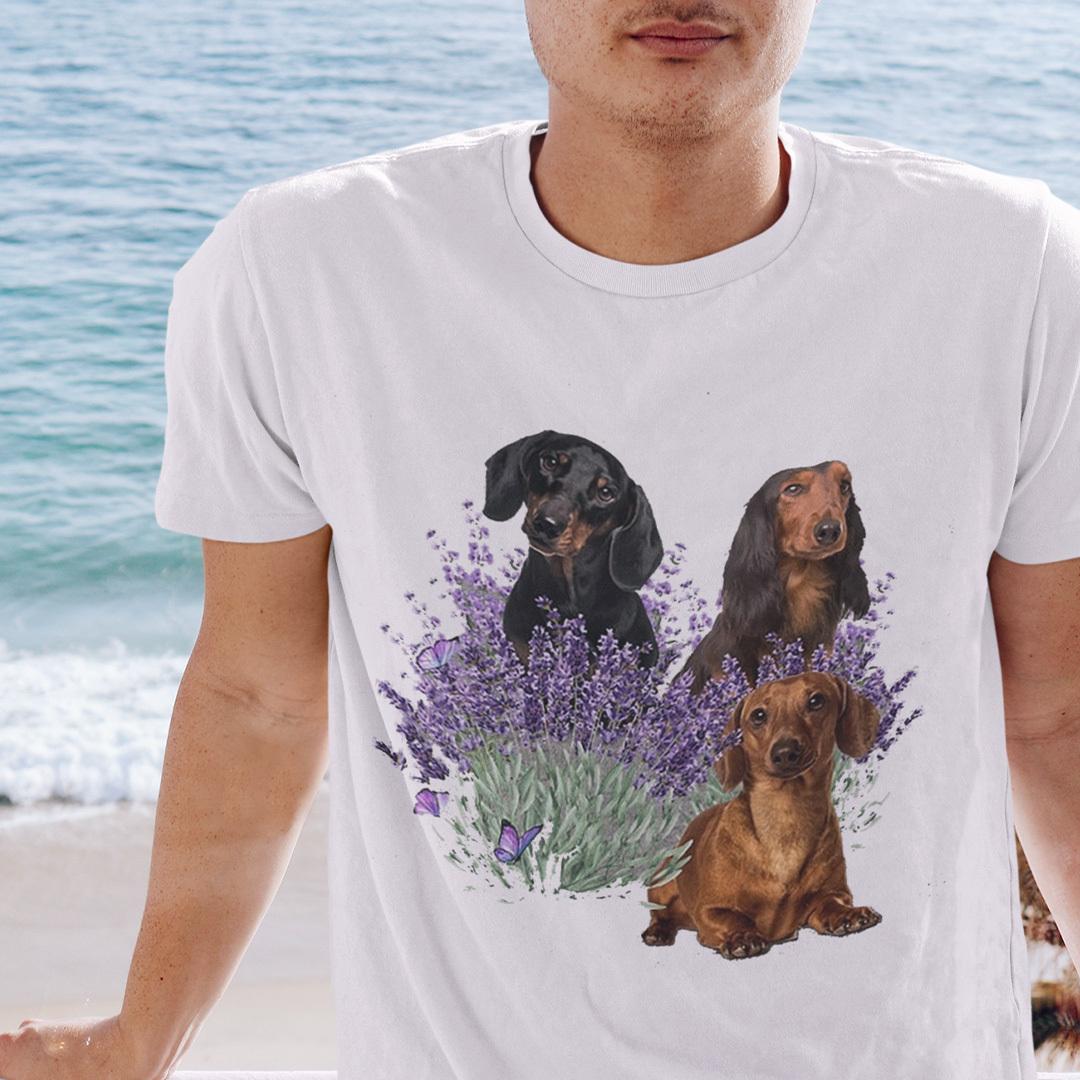 Dachshund Lavender Shirt