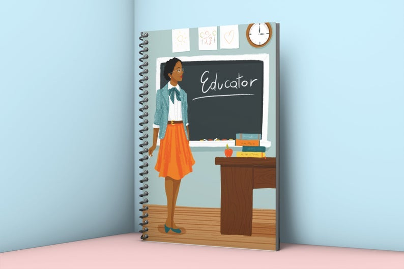 Educator Notebook- great holiday gift for teacher.