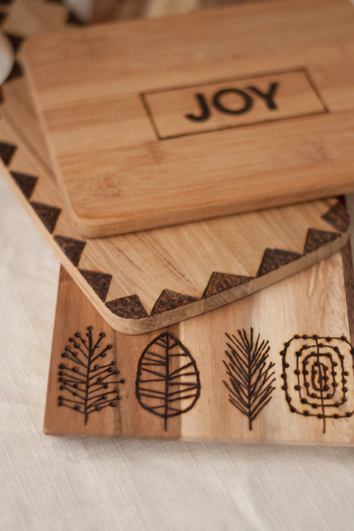 Etched Cutting Board Great gift ideas for dad diy