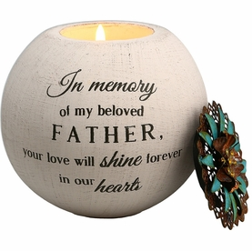 Father Memorial Candle