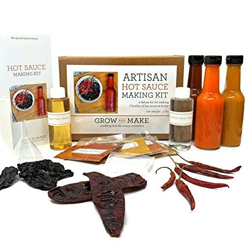 Hot Sauce Making Kit best gifts for husband from wife