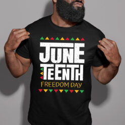 Juneteenth T Shirt Freedom Day Black Lives Matter