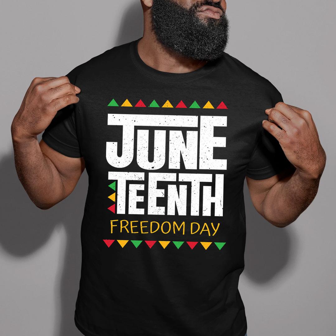 Juneteenth T Shirt Freedom Day Black Lives Matter