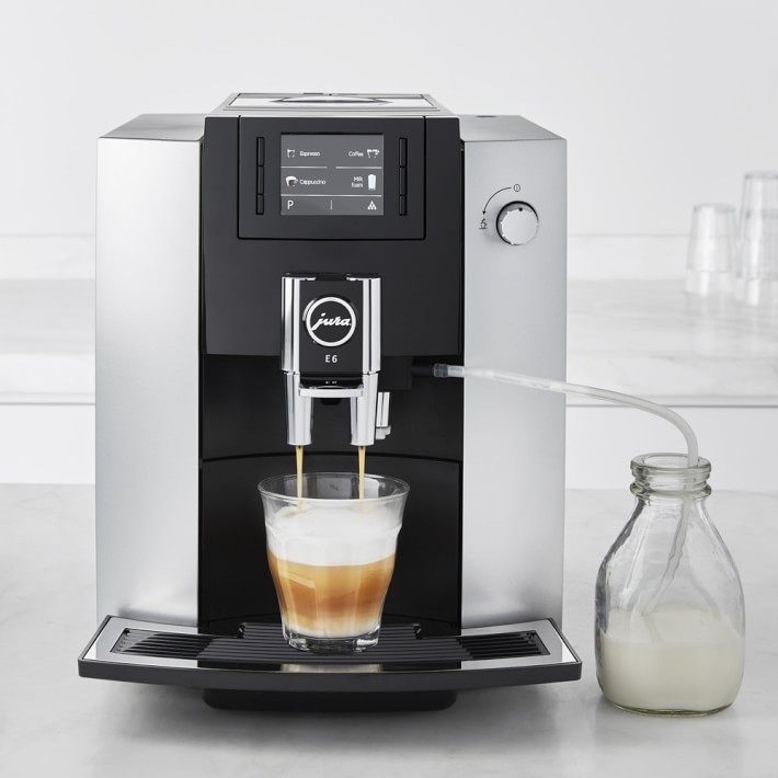 Jura E6 Fully Automatic Espresso & Coffee Machine- best gift ideas for daddy to be.