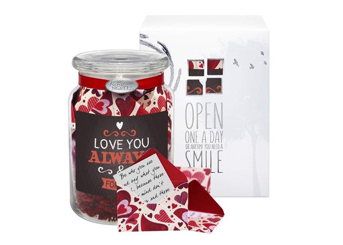 KindNotes Glass Keepsake Gift Jar