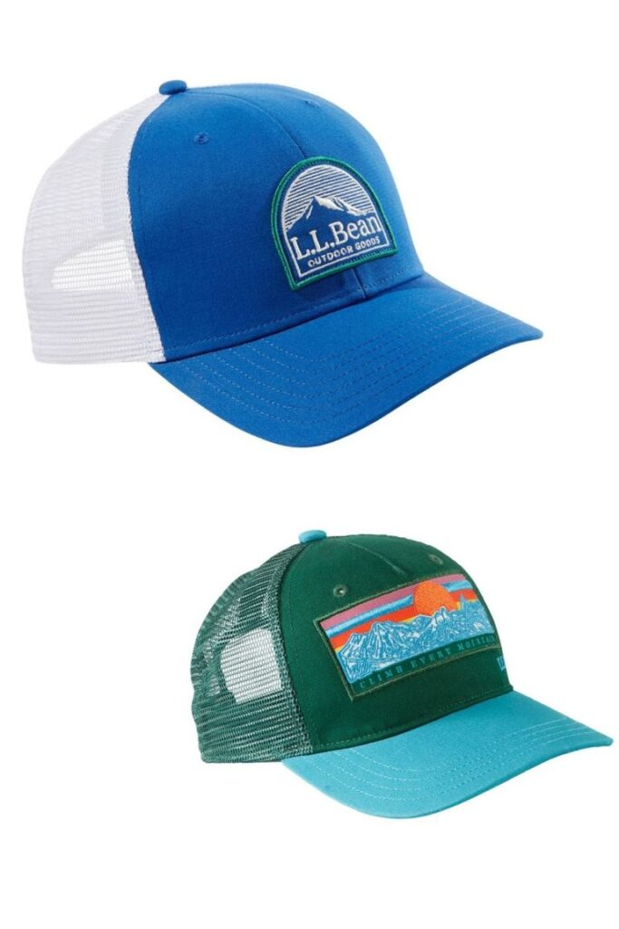 L.L.Bean Trucker Hat- great gift for dad to do with son
