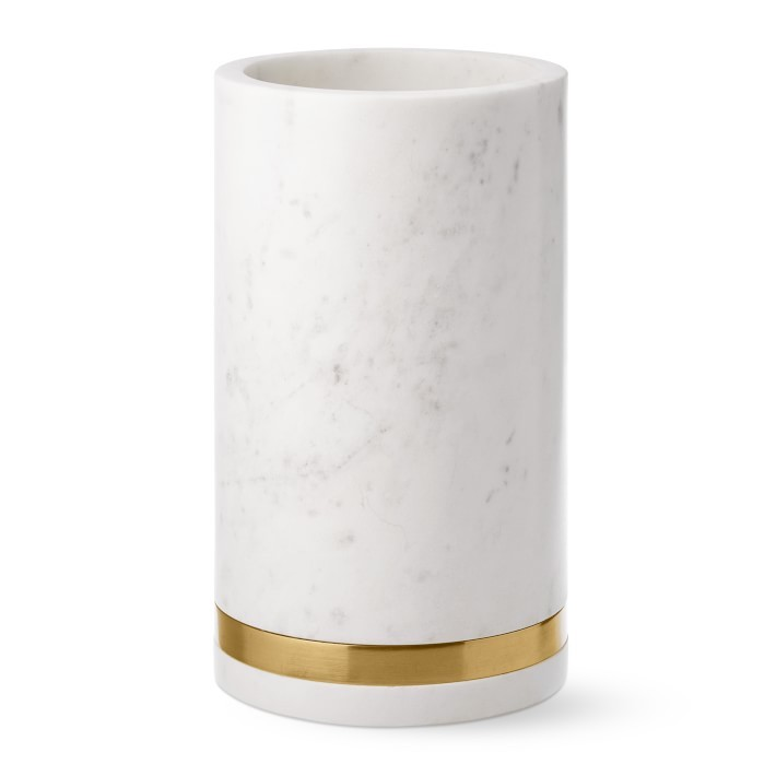 Marble & Brass Wine Chiller- great holiday gifts for teacher