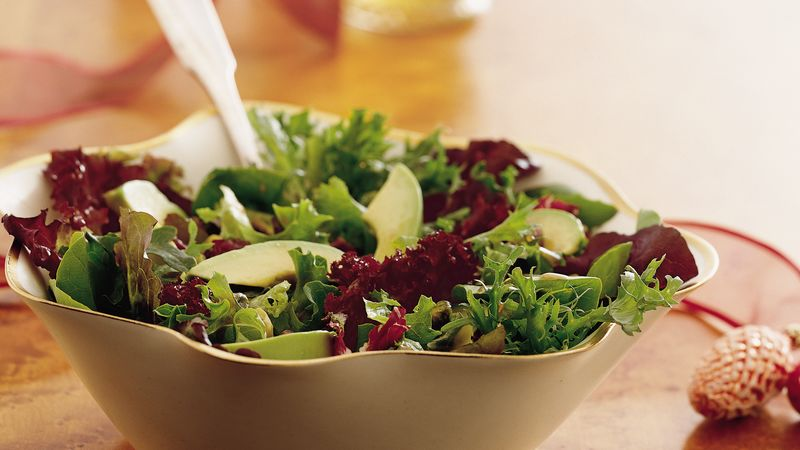 Mixed-Greens-great-idea-to-cook-for-mother-in-law