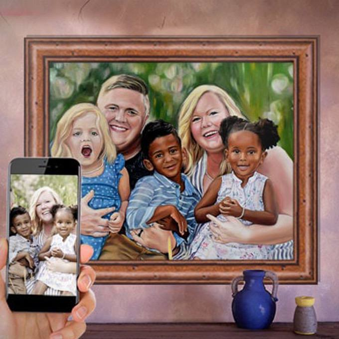 Personalized Family Painting