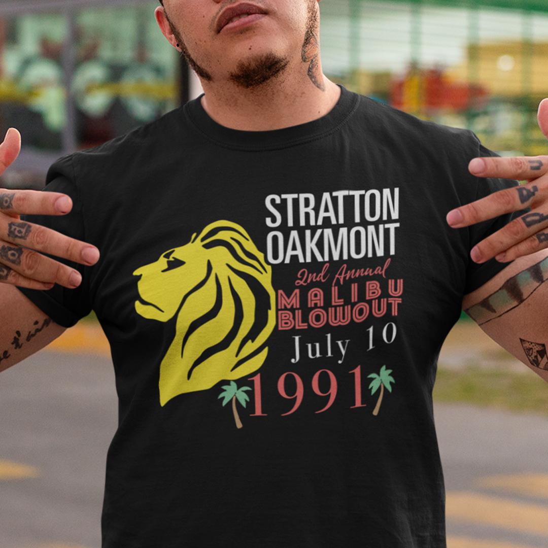 Stratton Oakmont Shirt 2nd Annual Malibu Blowout July 10 1991