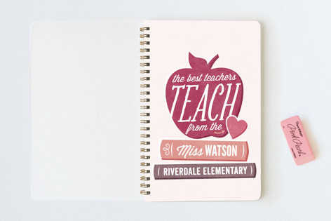 Teach From The Heart Notebooks- nice holiday gifts for teacher