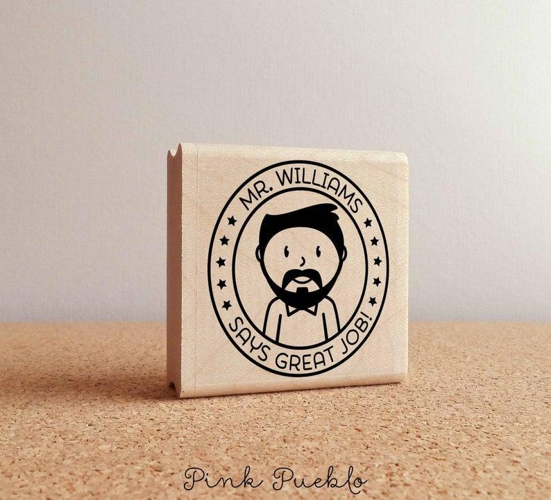Teacher Stamp- fantastic holiday gifts for teacher