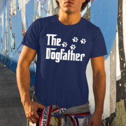The Dogfather Shirt Dog Dad Tee