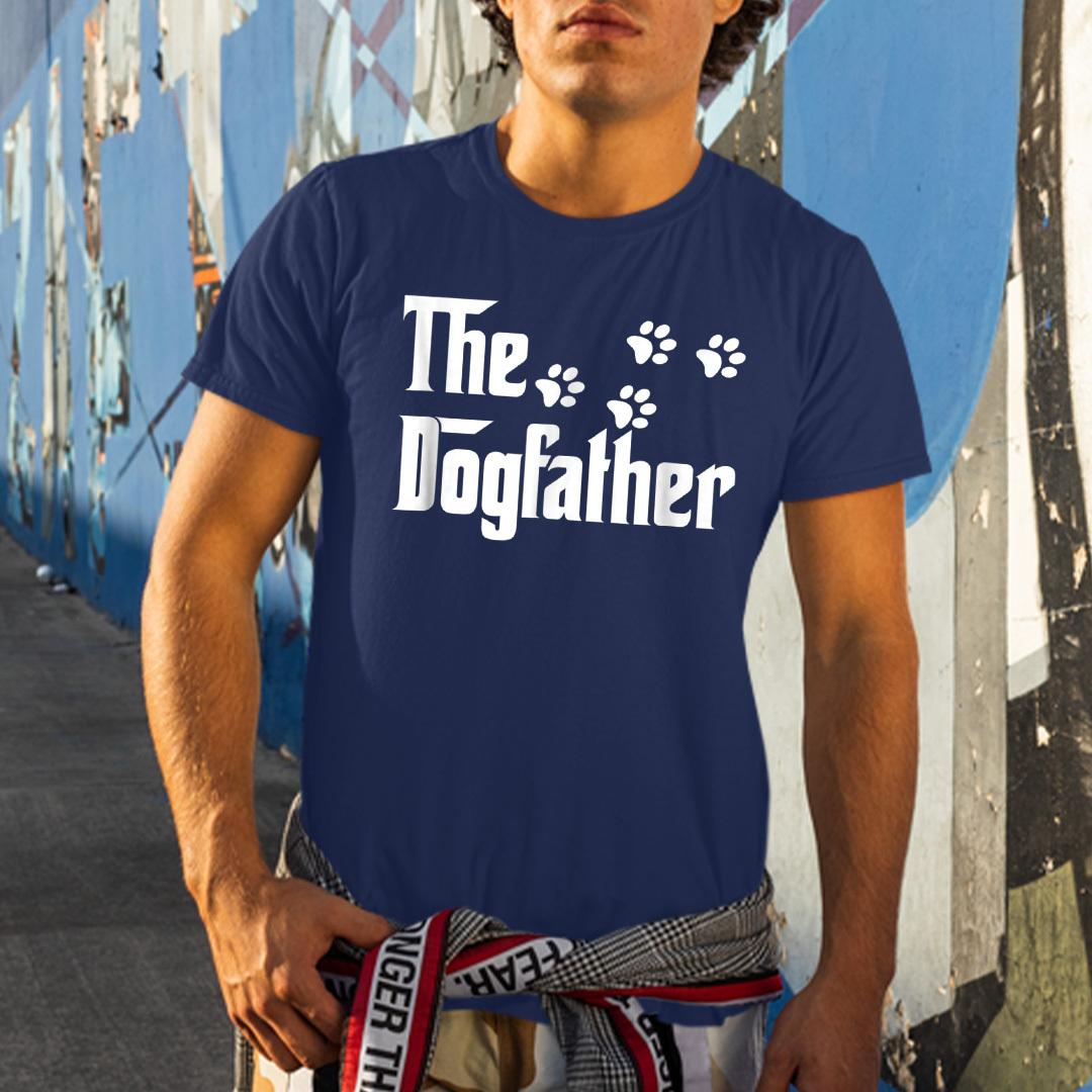 The Dogfather Shirt Dog Dad Tee