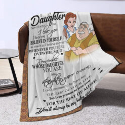 To My Daughter Never Forget That I Love You Blanket Belle And Maurice