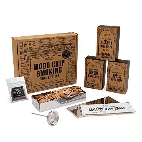 Wood Chip Smoking Grill Gift Set