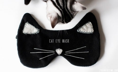 best gifts for cat lovers cat eye mask