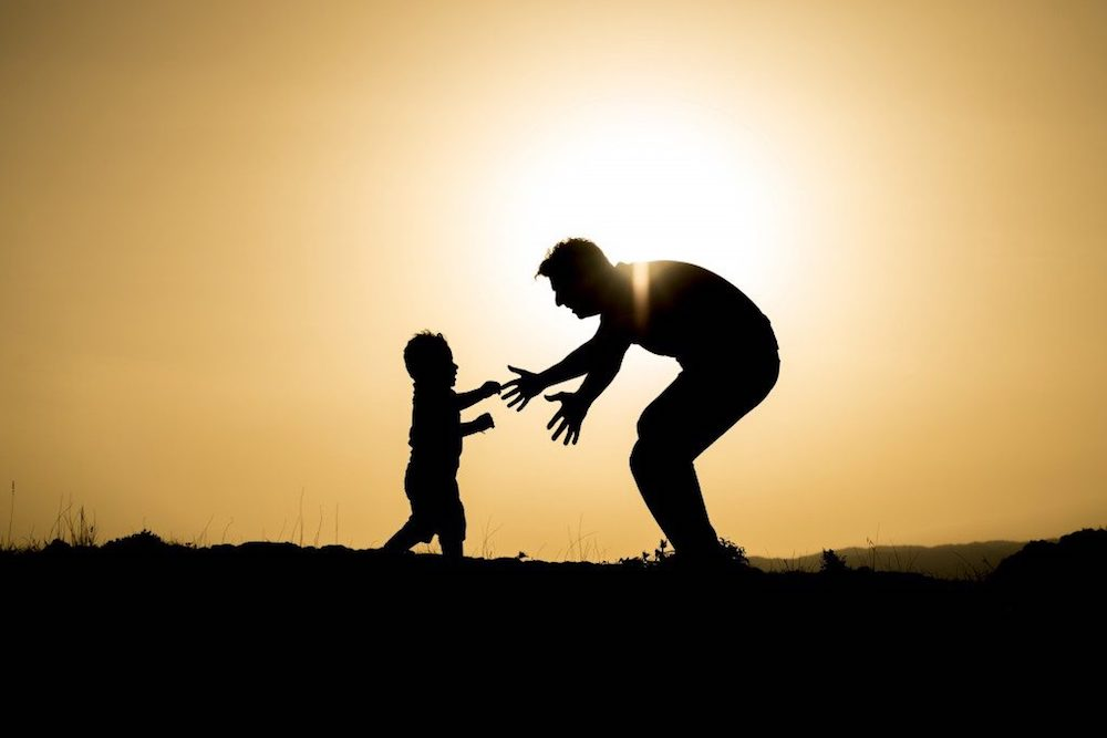 what to say when dad passed away