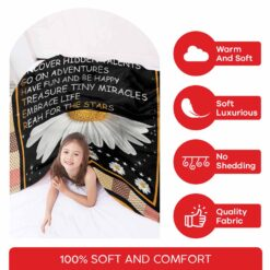 Daughter Dare All Your Dream Blanket